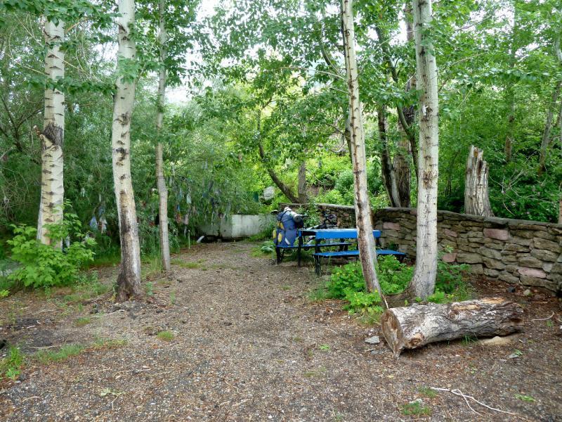20130602. Оформленная зона отдыха при роднике Канжыгабулак.