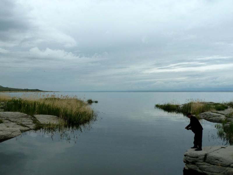20130603. В устье неизвестной речки на Бухтарминском водохранилище.