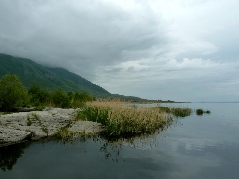20130603. На правом берегу Бухтарминского водохранилища, вид на юг.