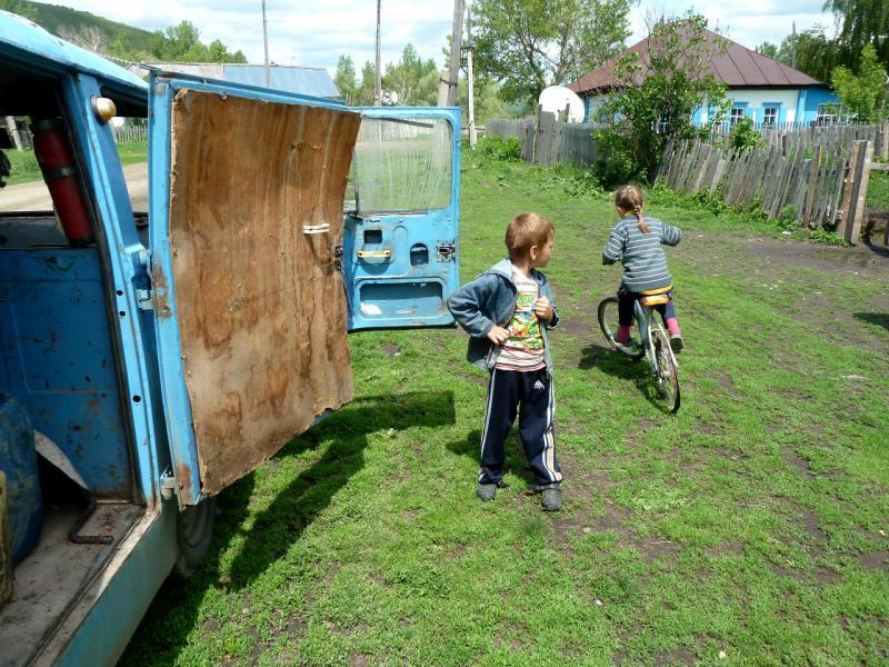 20130605. В деревне Средигорное.