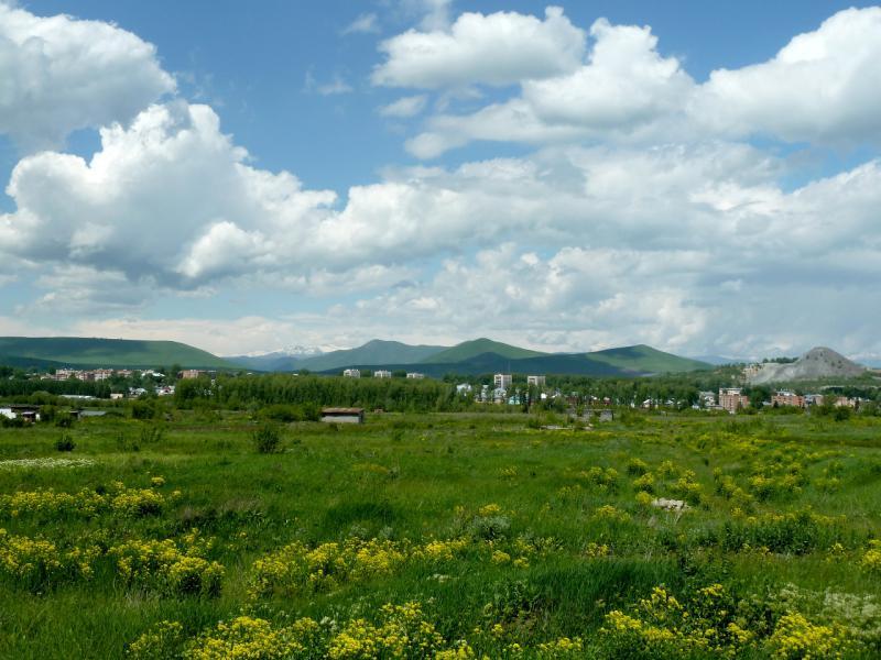 20130605. Вид на Зыряновск с объездной дороги.