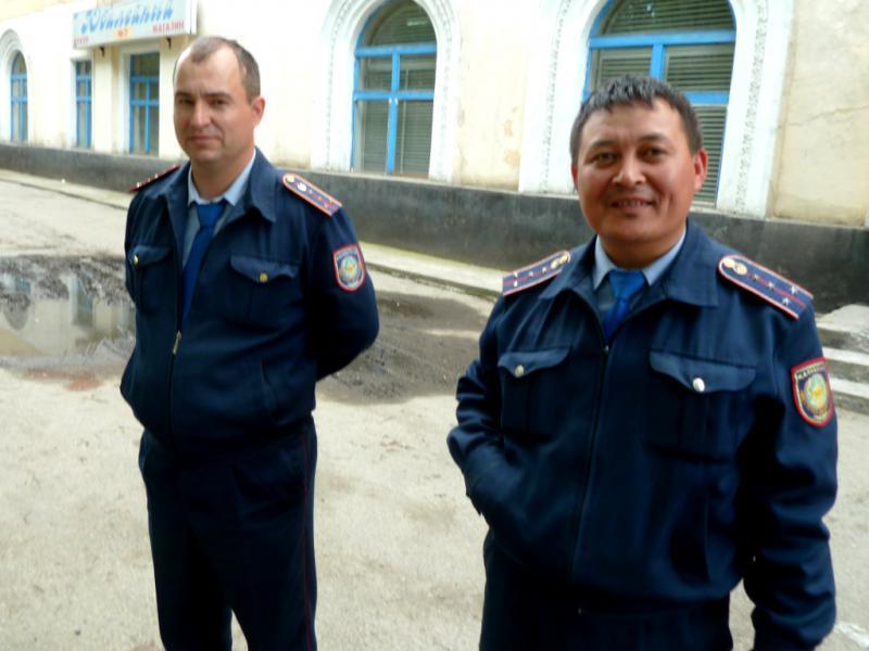 20130605. Полицейские Зыряновска.