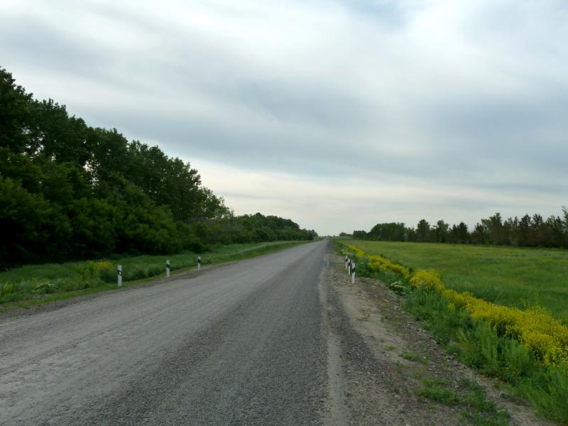 20130608. Дорога P-155 в районе села Герасимовка.