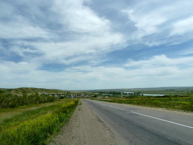 20130609. Вид на село Березовка.